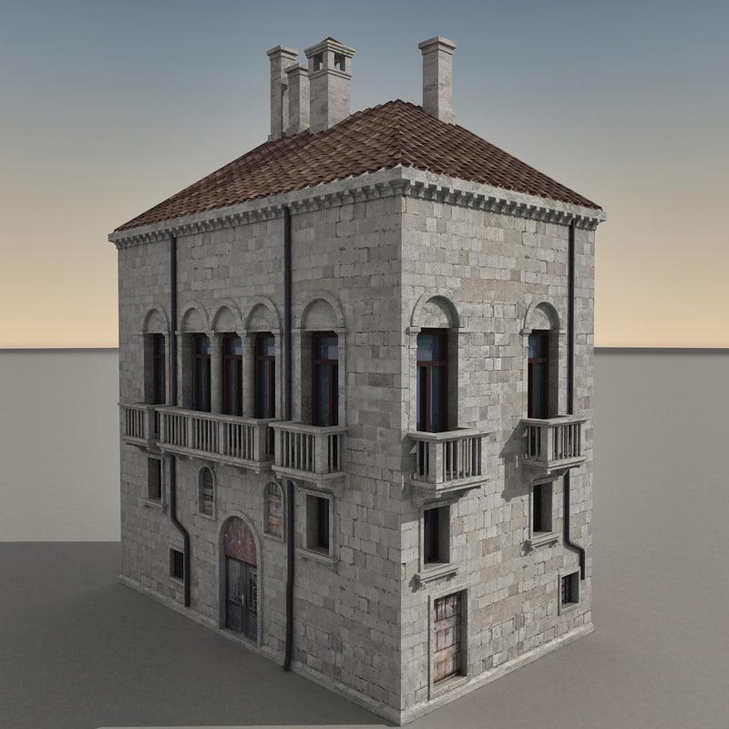 3d building italian