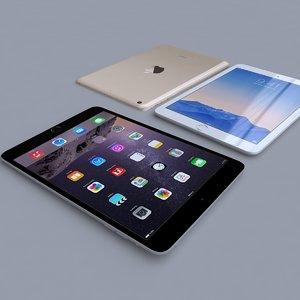 3d apple ipad mini 3