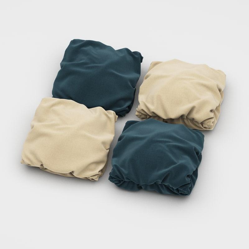 3dsmax pillows 42