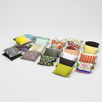 3d model pillows 27