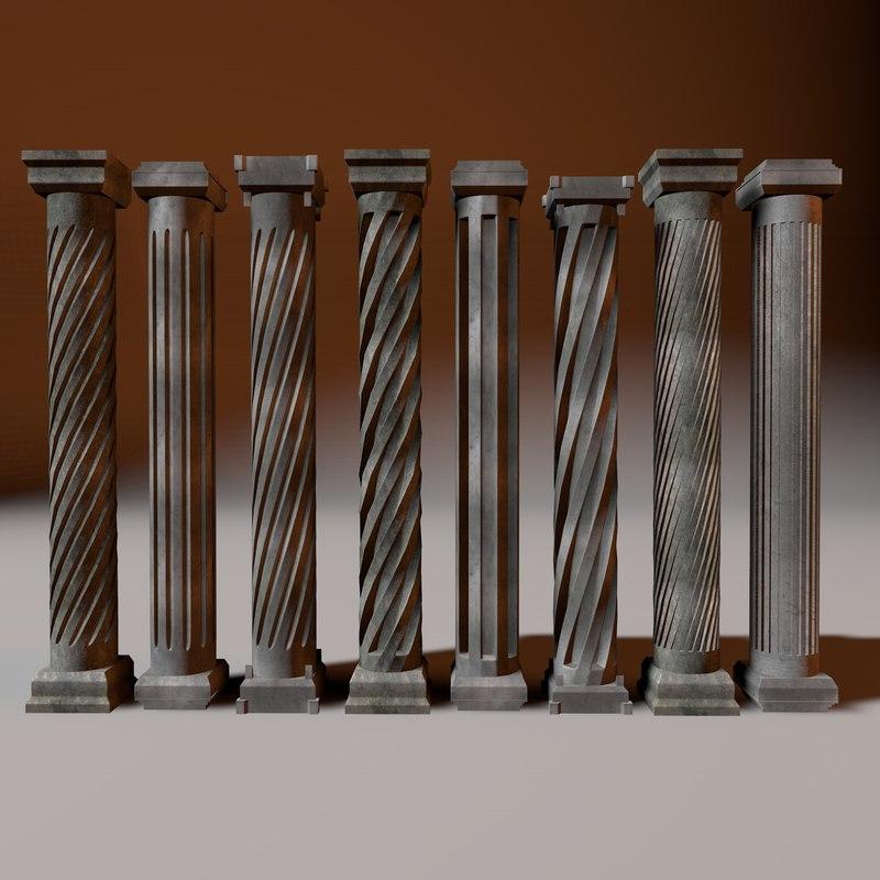 maya set column