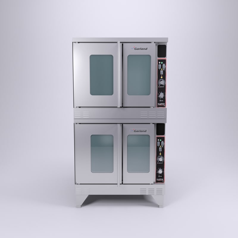 garland convection oven 3d model