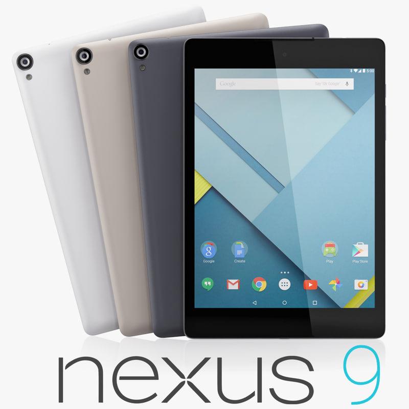 3d max google nexus 9