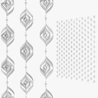 3d origami snowflake v1-b