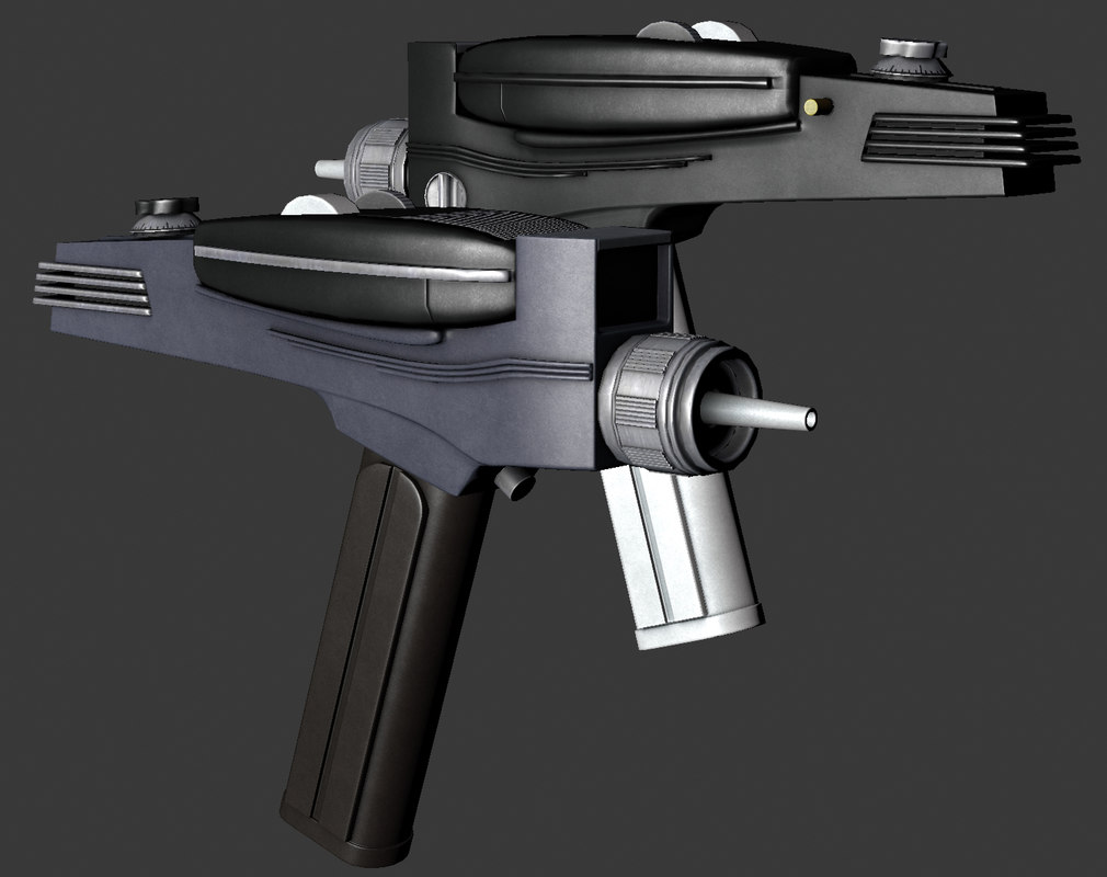 3d phaser original series