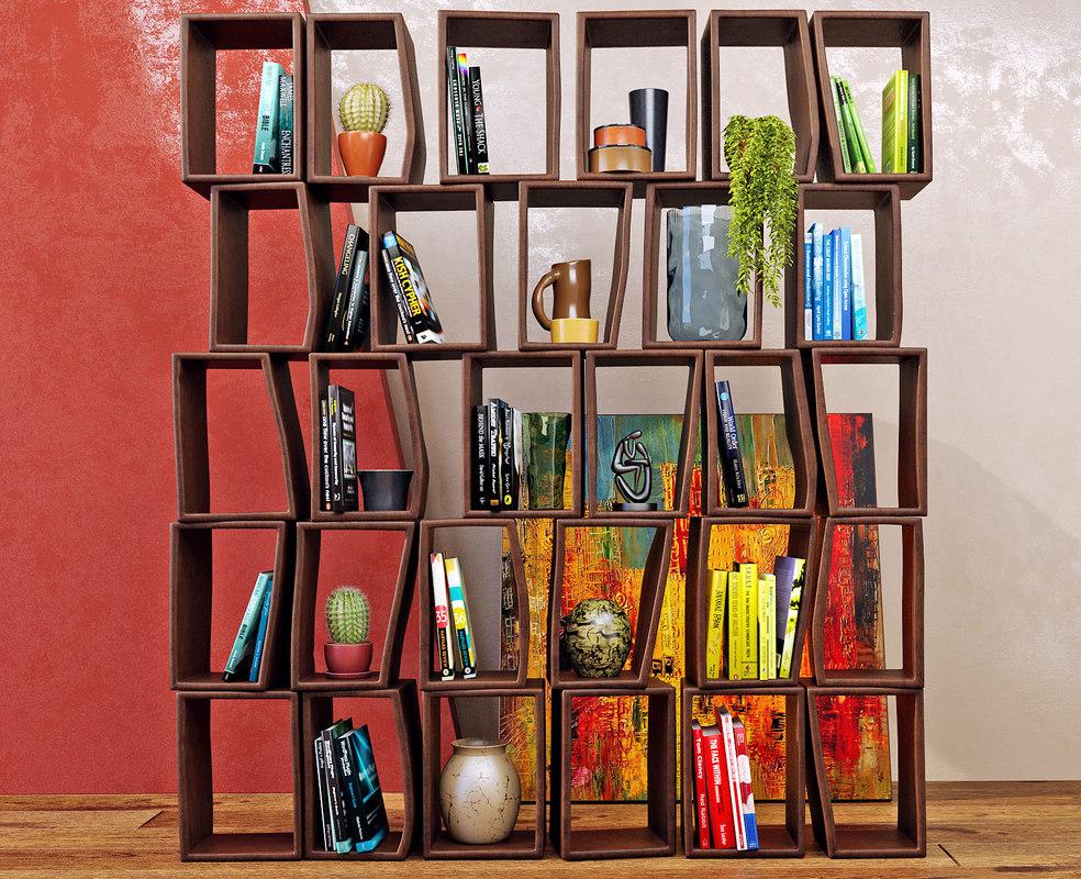 decorative moroso -terreria bookcase max