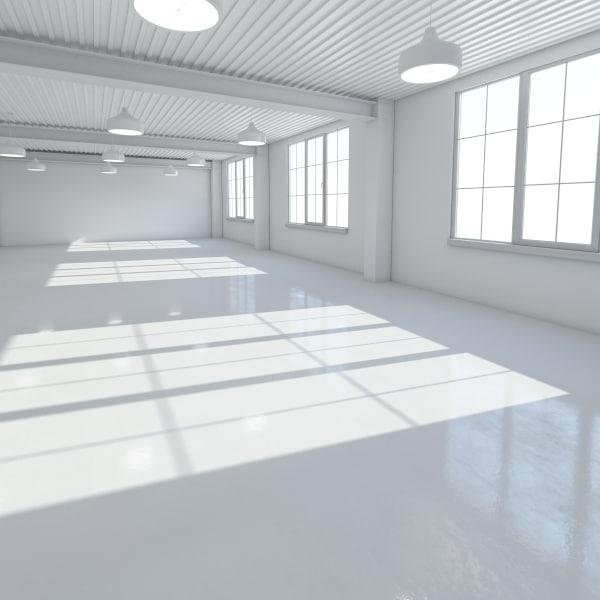 base loft office scene max