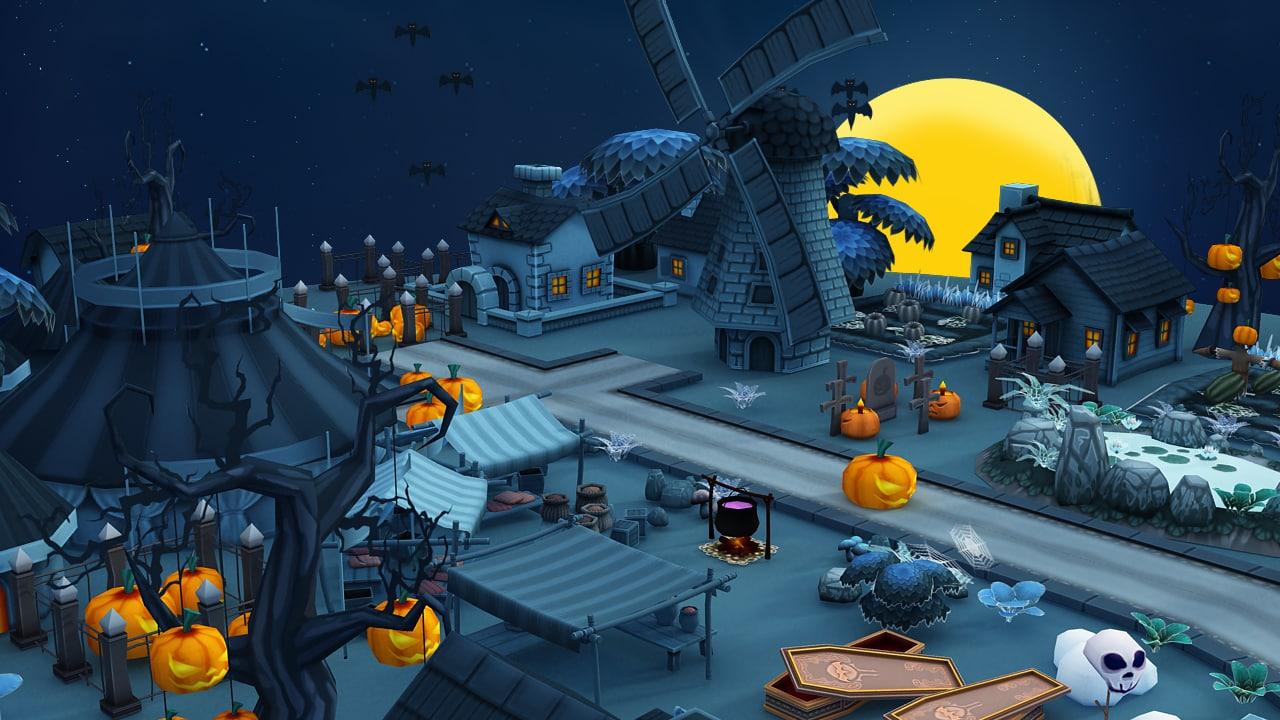 farming halloween max
