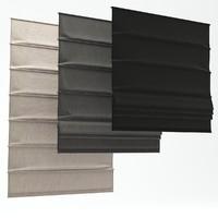 3d model roman shades