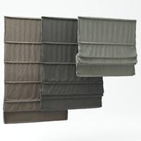 3d roman shades