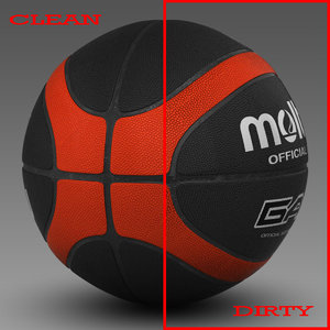 3d basket ball model