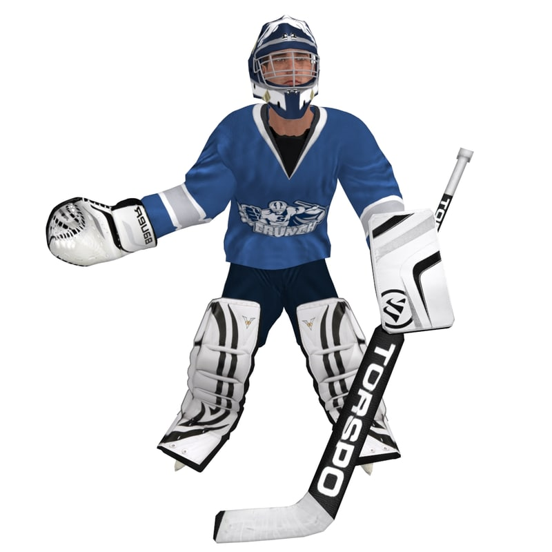 hockey goalie rigged max