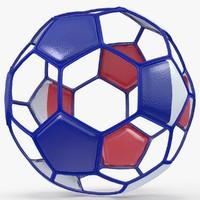 soccer ball 3d model
