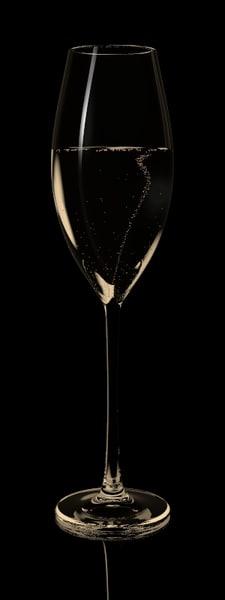 lightwave glass champagne bubbles