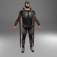Medieval Warrior Male