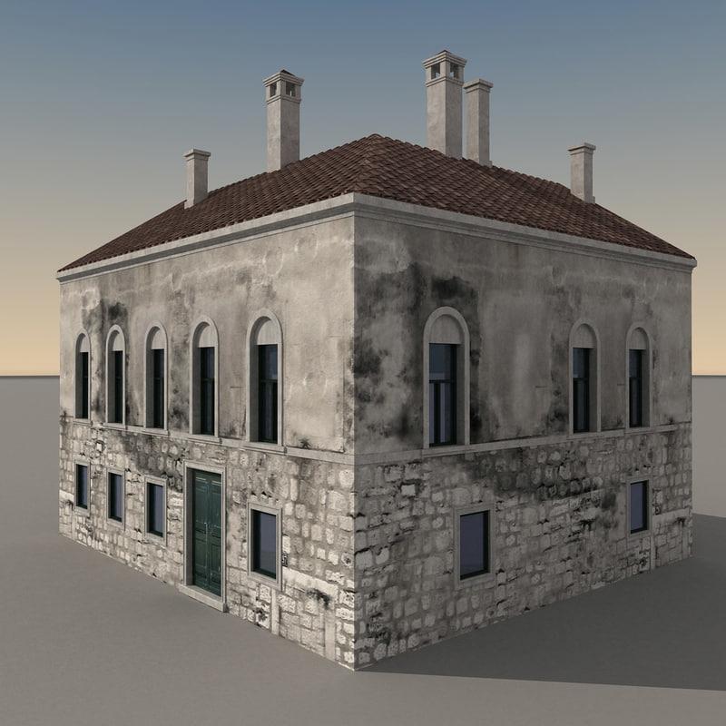 building italian obj