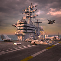 USS Dwight Eisenhower Bundle
