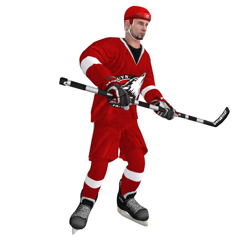 max rigged hockey player 3