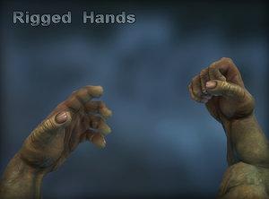 creature hands ma