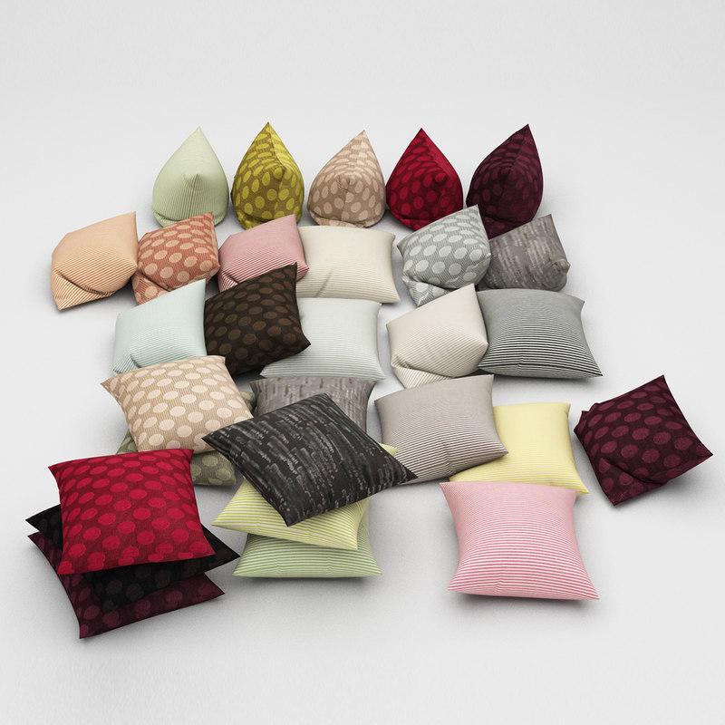 pillows 26 3d model