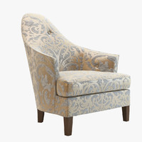 3d ghost chair donghia
