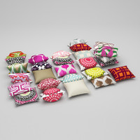 pillows 20 3d max