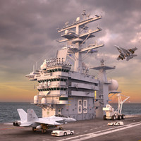 USS Dwight Eisenhower Collection