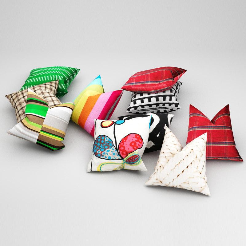 3d pillows ikea