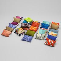 pillows 19 3d max