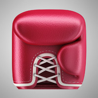 icon boxing 3d model