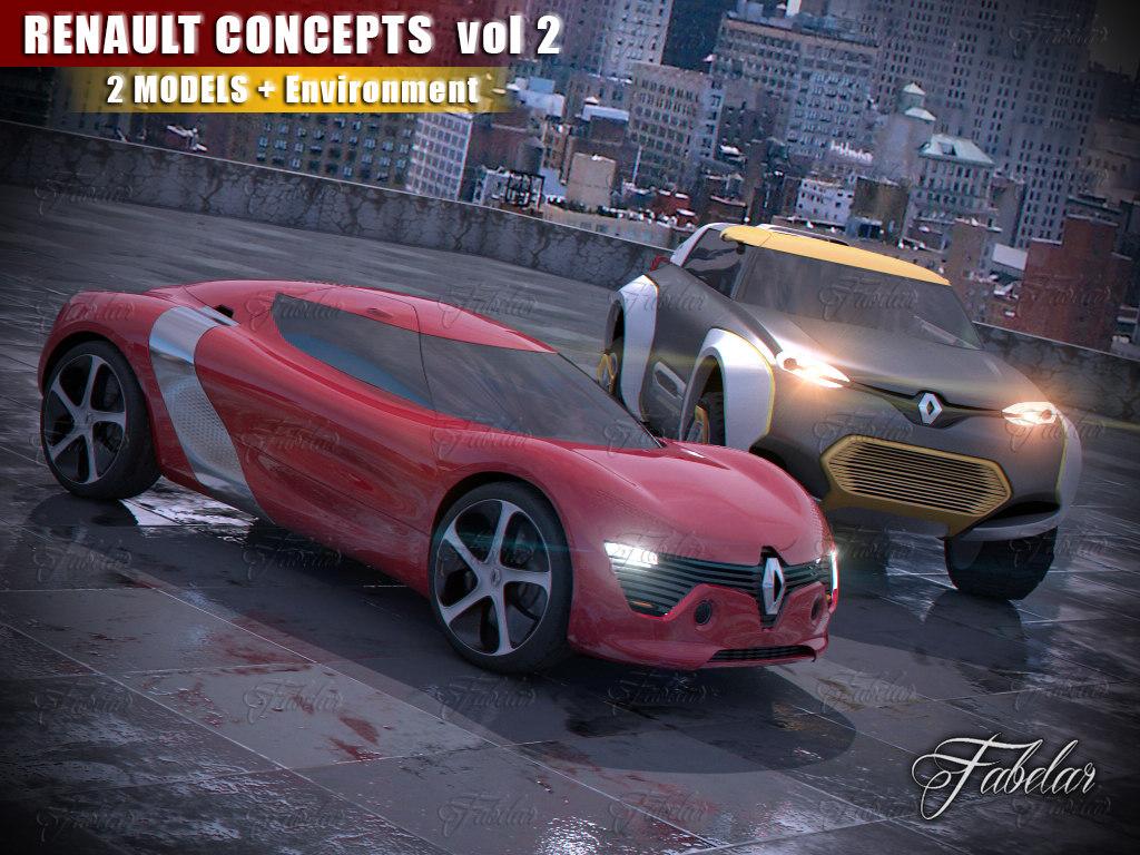 3ds renault concepts vol 2