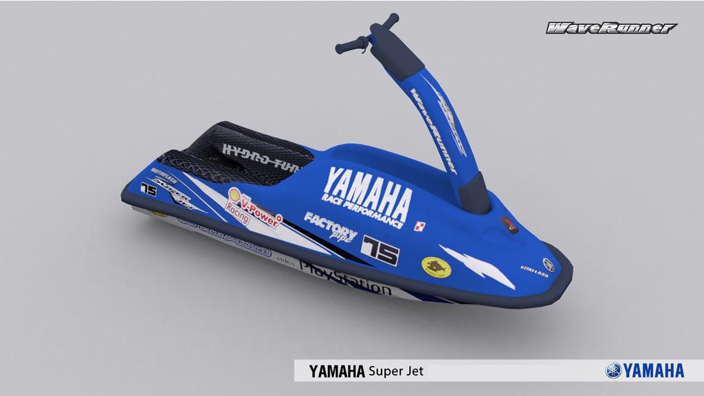 jetski yamaha super jet max