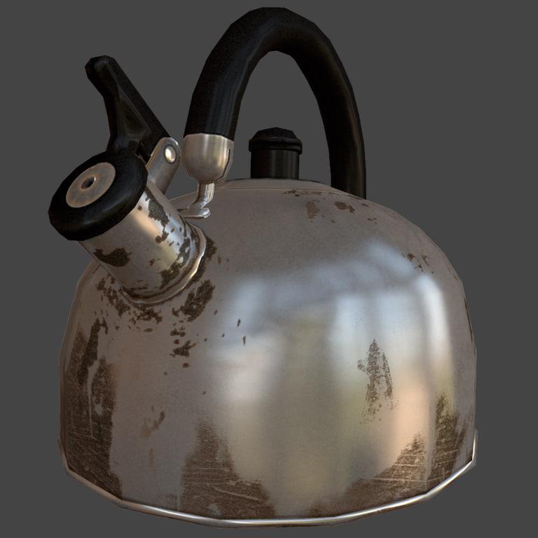 fbx teapot