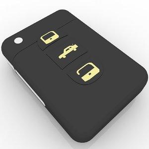 3ds max car key