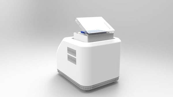 3d obj temperature controlled shaker