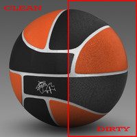 Basketball ball Euro black
