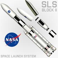 max sls block ii cargo