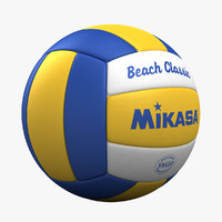 3d model ball volley volleyball