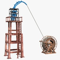3d model industrial equipments