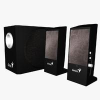 3ds max speaker 5