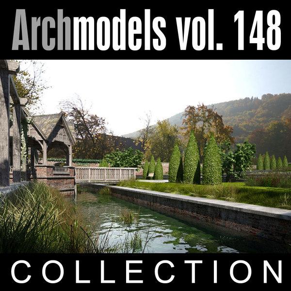 archmodels vol 148 3d max