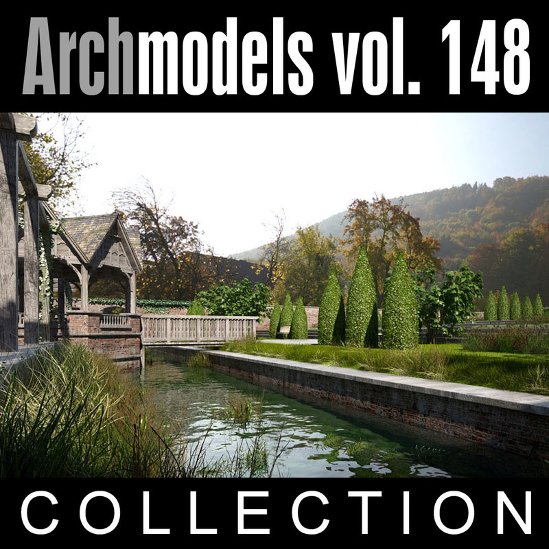 archmodels vol 148 3d max