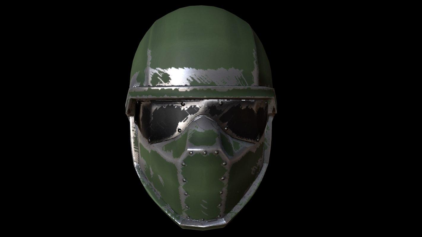 3ds max helmet