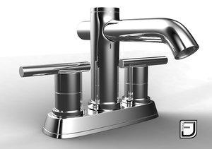 3d c4d bathroom faucet 7