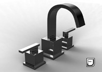 3ds max bathroom faucet 8
