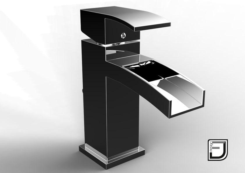 3d bathroom faucet 11