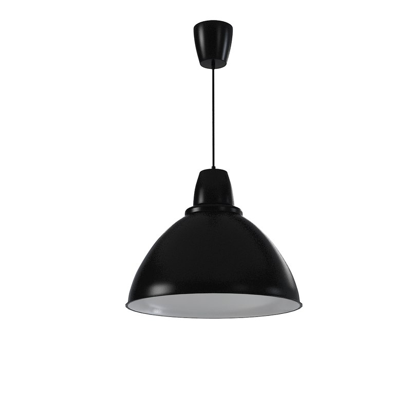 3d model ikea ceiling pendant