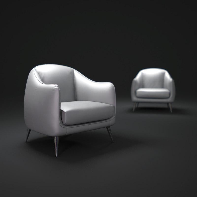 maya natuzzi-platea-accent-chair
