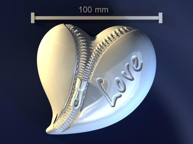 zipper heart max