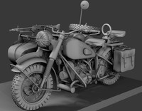 3ds max r75 motorcycle